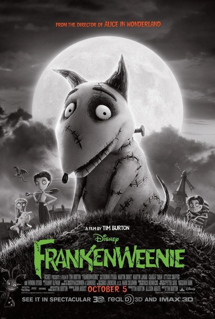 Cine: Frankenweenie, de Tim Burton (2012)