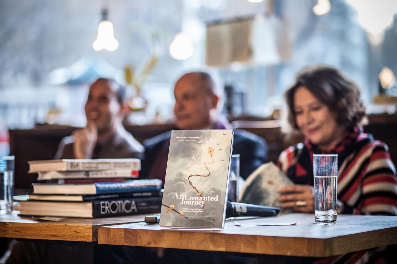 Presentación del libro An Unwanted Journey en Bratislava