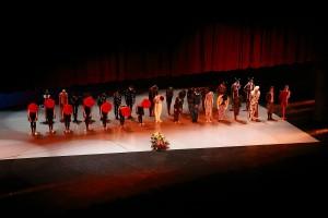 Ballet en Exposición Principito de Plamienok
