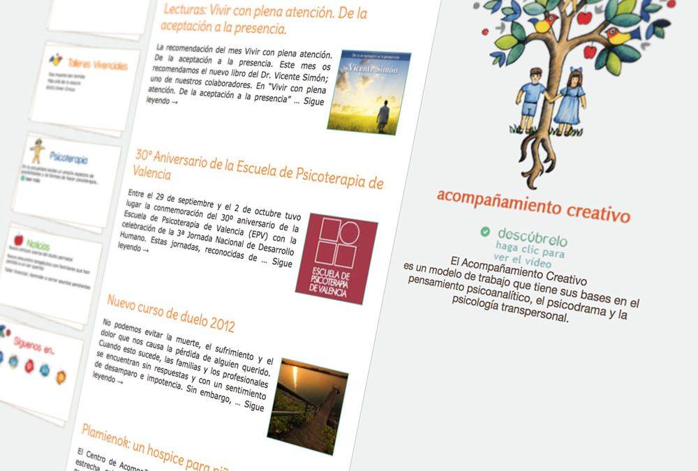 Centro de Acompañamiento Creativo estrena web y blog