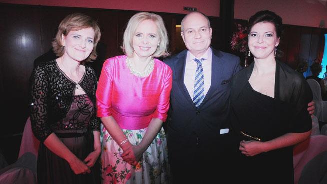 Rubén Bild en la Gala benéfica de ayuda al Hospice de Eslovaquia (Plamienok)